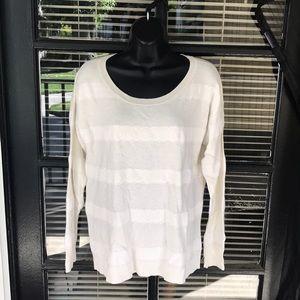 AEO White Pullover Sweater